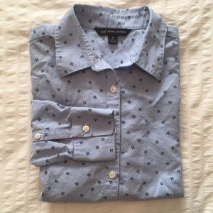 """Brooks Brothers """"346"""" printed oxford button down"""